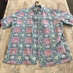 Reyn Spooner reverse print shirt XL